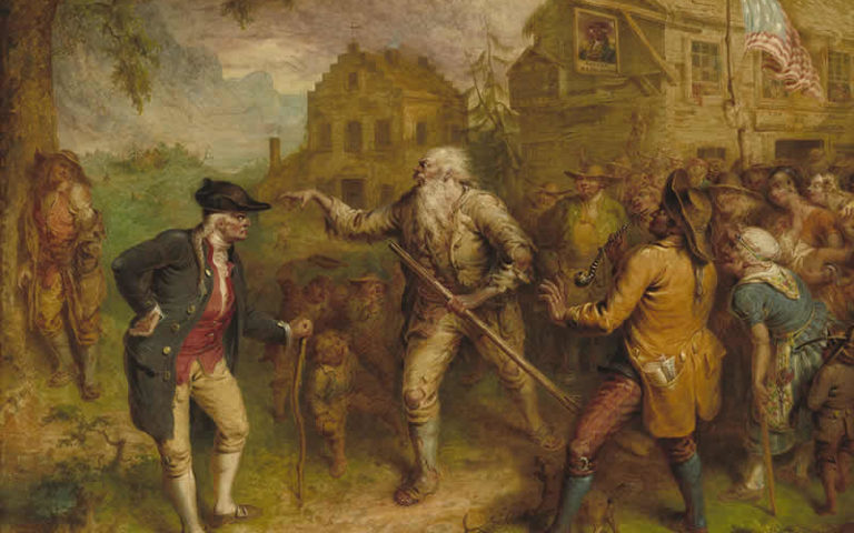 If Rip Van Winkle Were a Blogger...