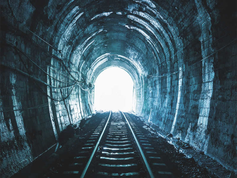 The Train at the End of the Tunnel